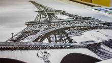 печать картины с изображением Эйфелевой башни